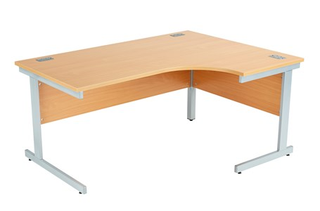 Left Handed Fraction Plus Core Desk