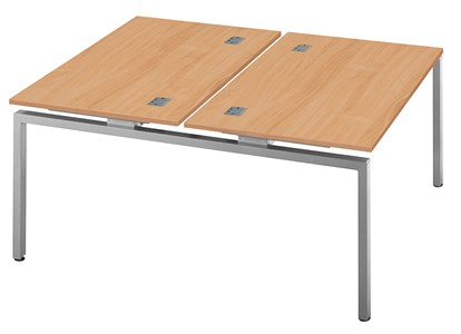 Rectangular Desks Fraction Bench Double Starter Desk