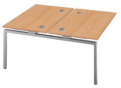 Rectangular Desks Fraction Bench Double Extension Unit Desk