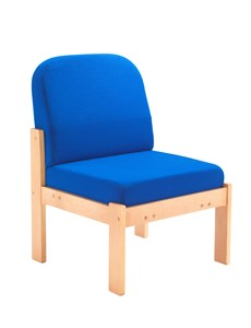 Reception Chairs Juplo Wood Framed Side Chair - Royal Blue OF0309RB