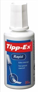 Tipp-Ex Rapid Correction Fluid 20ml White (Pack of 1)