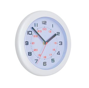 Business Facilities Controller Wall Clock Diameter 250mm White
