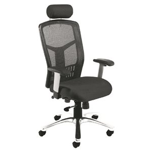 Desk Chairs Fonz Computer Chair Charcoal